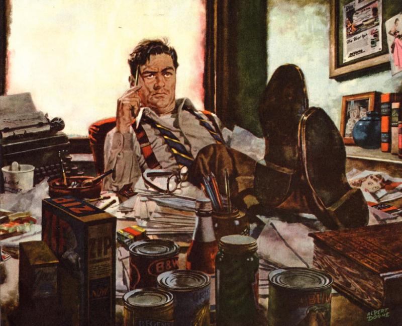Illustrated by Albert Dorne