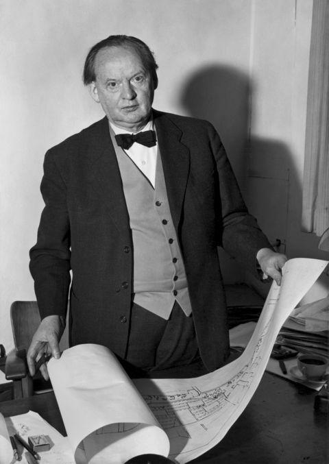 Portrait of Hans Scharoun