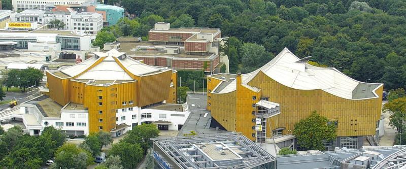 Gallery of AD Classics: Berlin Philharmonic / Hans Scharoun