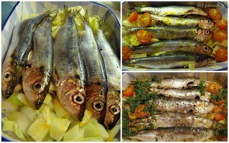 Что за рыбка таращит на вас глаза? Это салака. Её поливаешь маслом и запекаешь в духовке