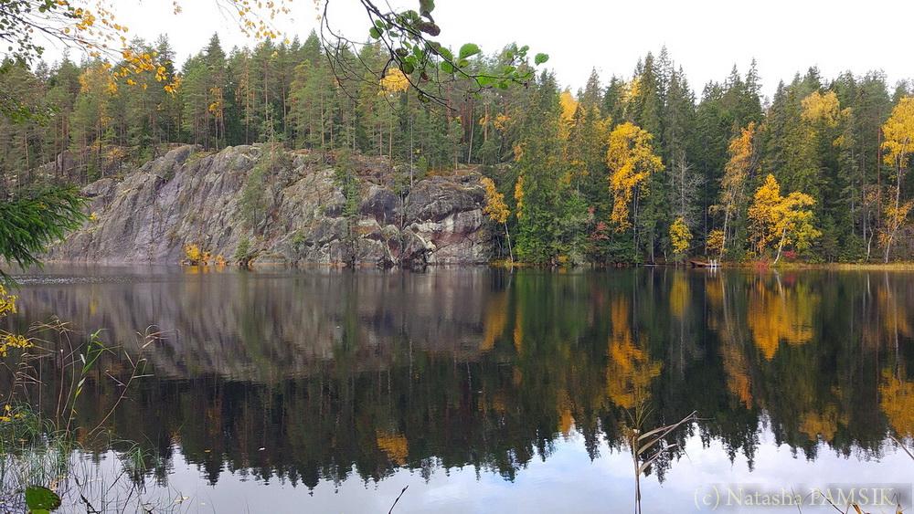 Озеро Haukalampi