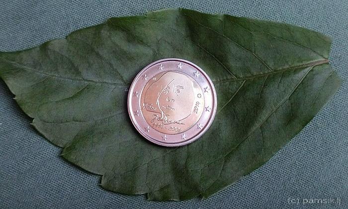 А ещё выпущены в оборот монеты по 2€ с изображением Туве.