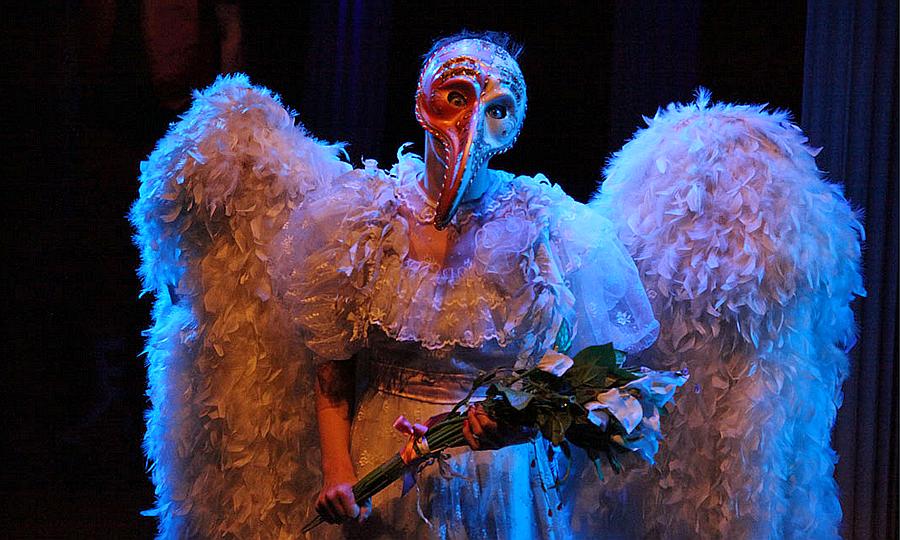 Спектакль «Укрощение строптивой» в Театре на Юго-Западе, фотография из блога Натальи