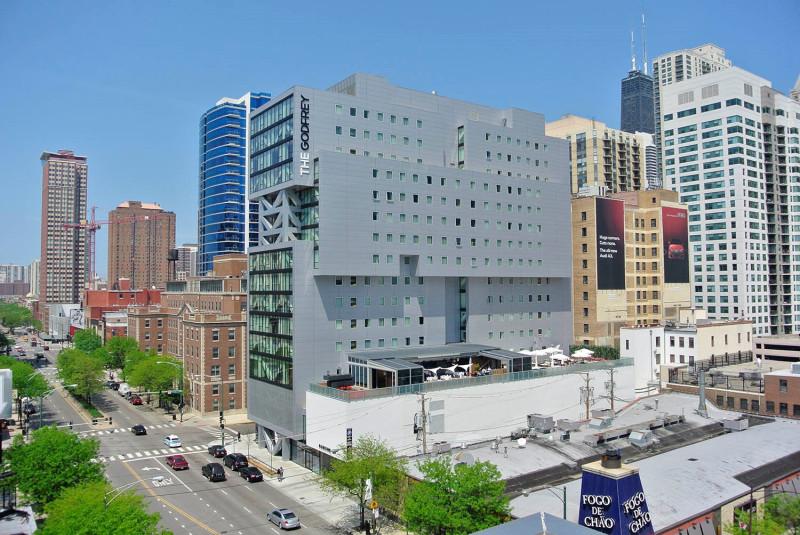 17-этажный отель Godfrey в Чикаго