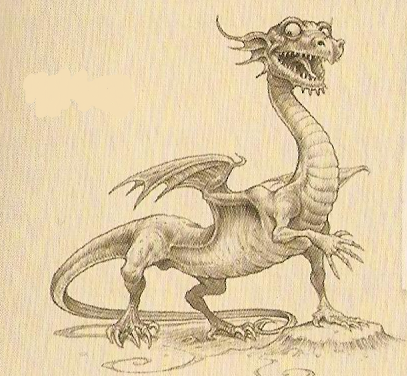 Knucker Dragon