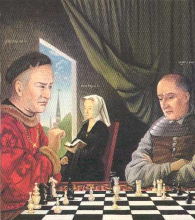 Van Huys: A sakkjátszma