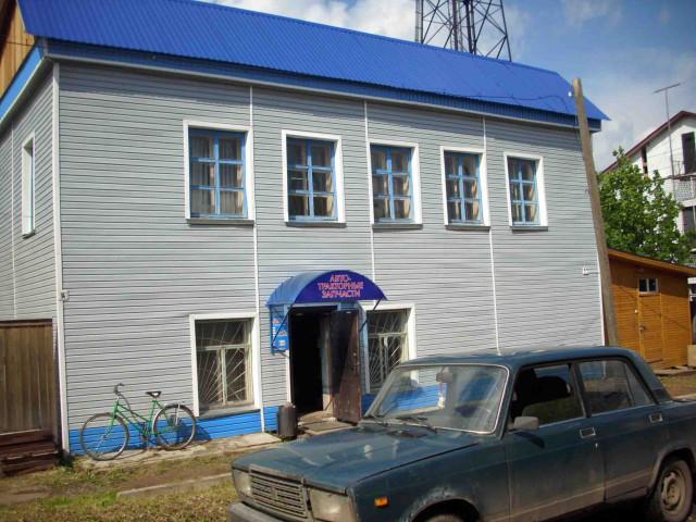 Шабалинский район, благоустраиваются старые здания