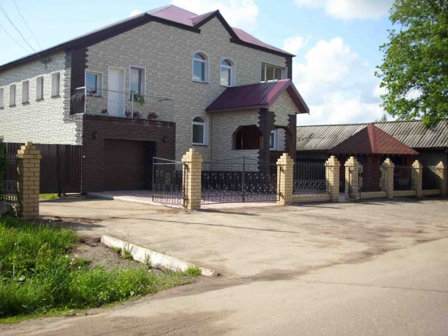 Шабалинский район, возводятся новые здания
