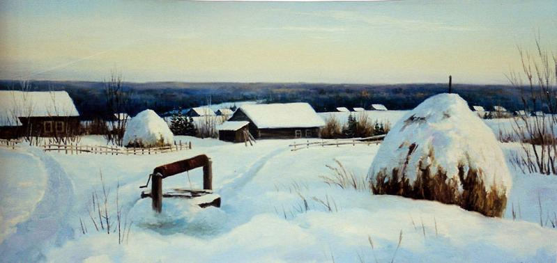 Стихи о зиме. Поземка - завитух