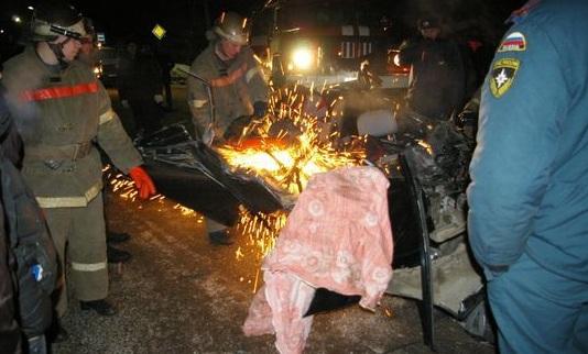 в ДТП погибли четыре человека, г Котельнич, Кировская область
