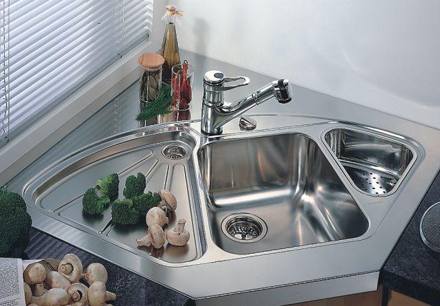 Немецкие мойки Blanco Delta - стильная часть кухонного интерьера