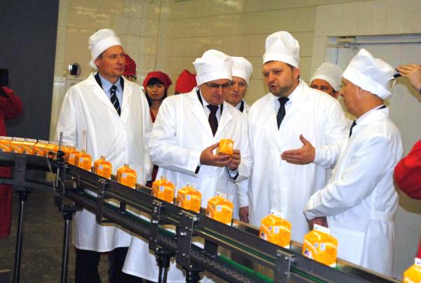 Министр РФ Николай Фёдоров на Вятке знакомится с сельским хозяйством сельского хозяйства