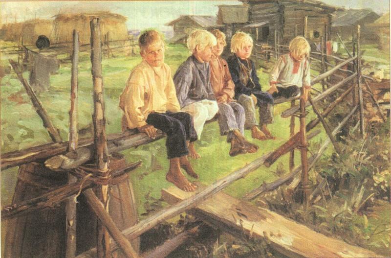Деревни в Вятском крае возводили с любовью