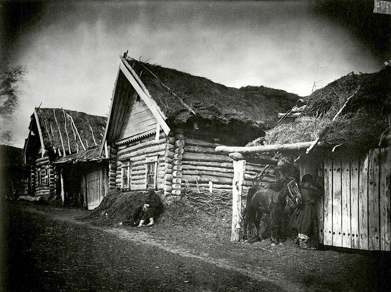 Как в Вятском крае строили крестьяне избы?