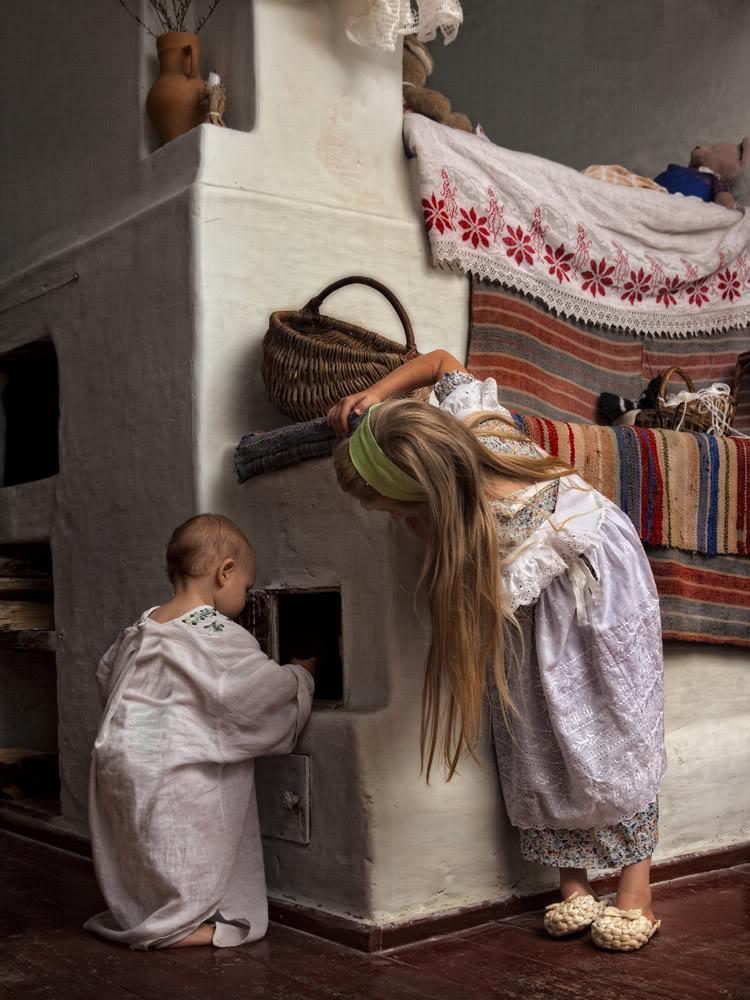 В Вятском крае избы строили на века