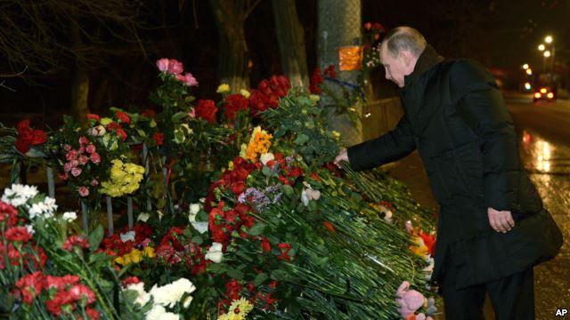 Путин в Волгограде – городе терактов