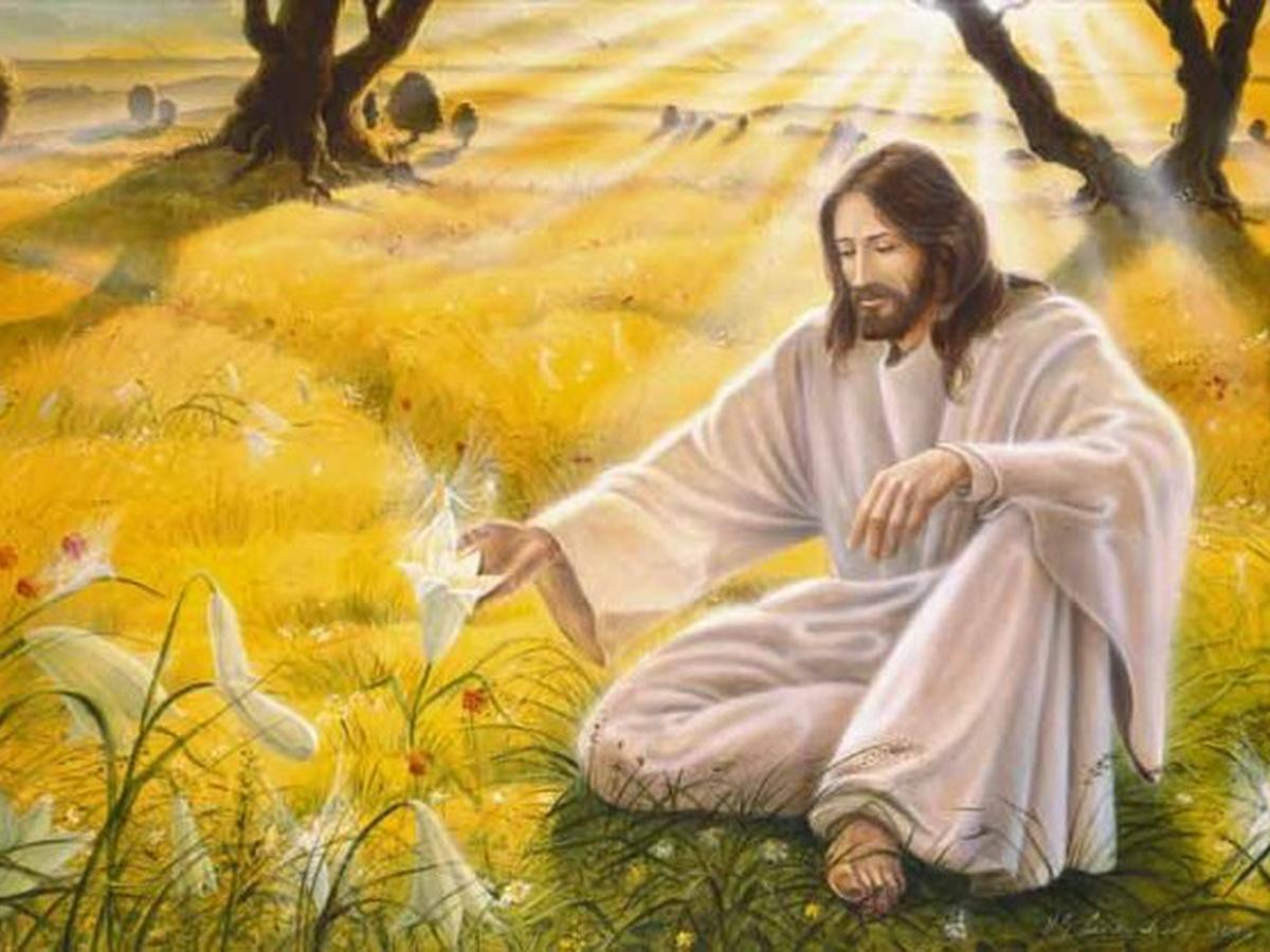 Стихи о Боге. Помолись перед ликом Спасителя
