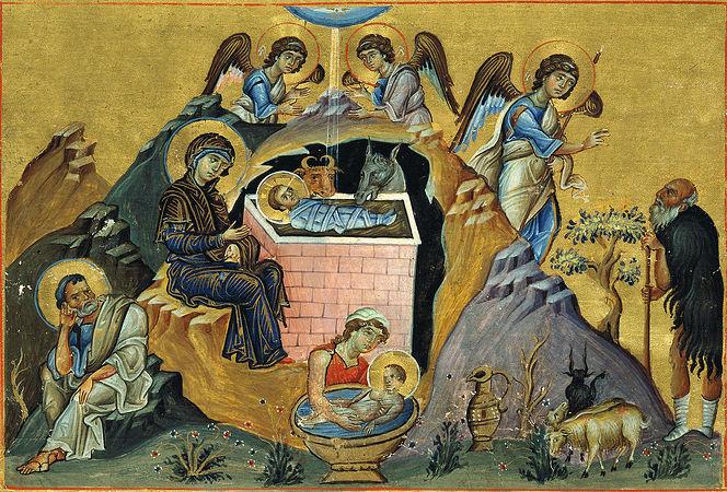 Стихи о Боге. Рождество Христово