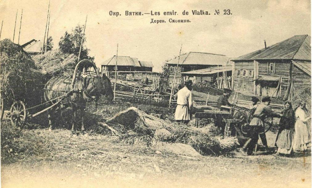 Как развивалось крестьянство в Вятском крае?
