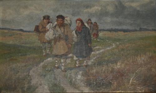 Стихи о селе. Пахнет пряными травами ветер