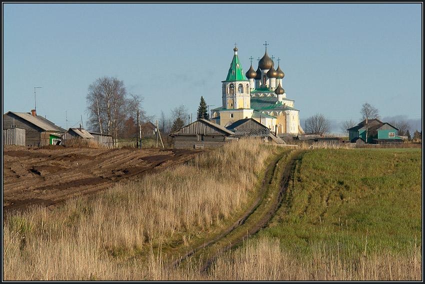 Стихи о России.  Я радуюсь родной своей деревне