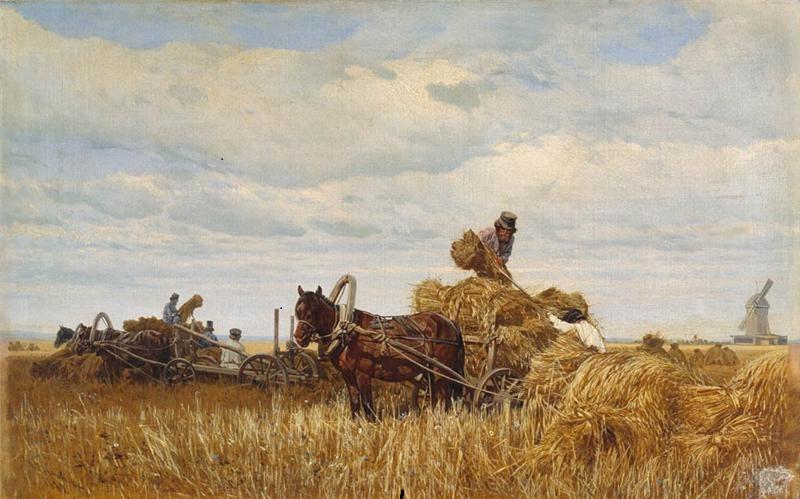 Деревенские труженики Вятского края