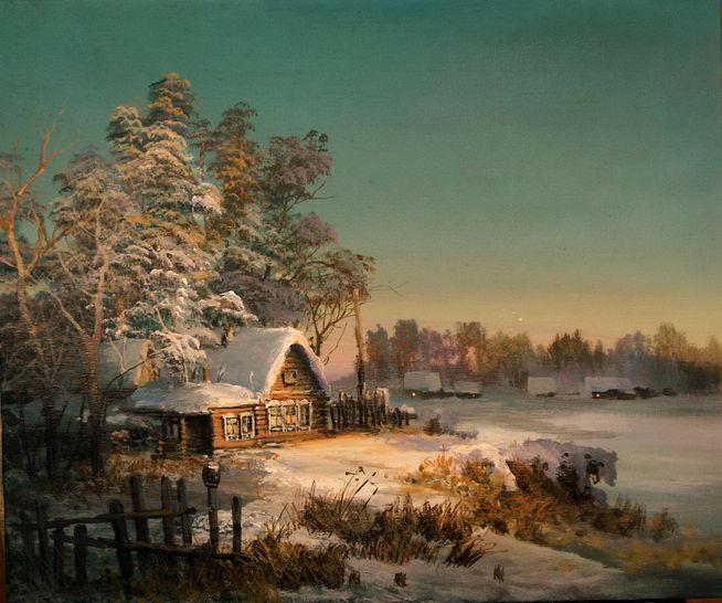Как встречали зиму крестьяне в Вятском крае?