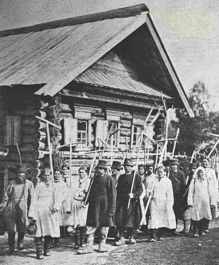 Происхождение фамилий и деревень в Вятском крае