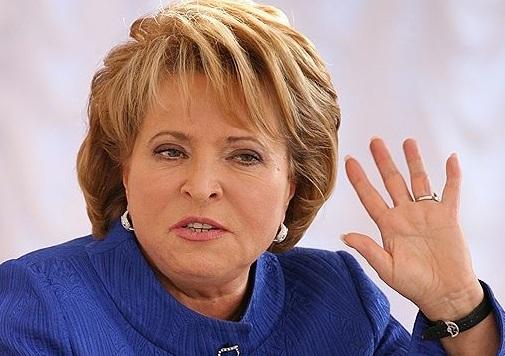 Валентина Матвиенко: Совет Федерации допускает ввод российских войск в Крым