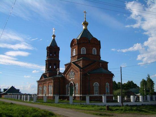 Село Новотроицкое в Вятском крае