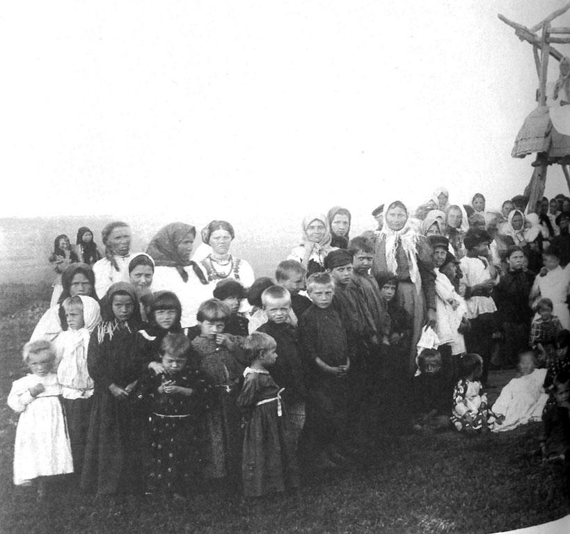 Село на Паозере в Шабалинском районе