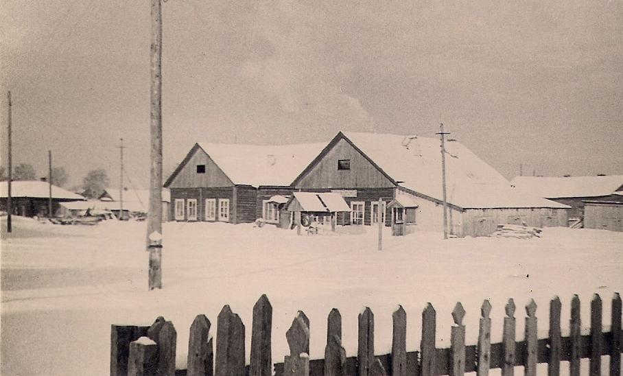 22 общежитие рабочих льнозавода 1958г