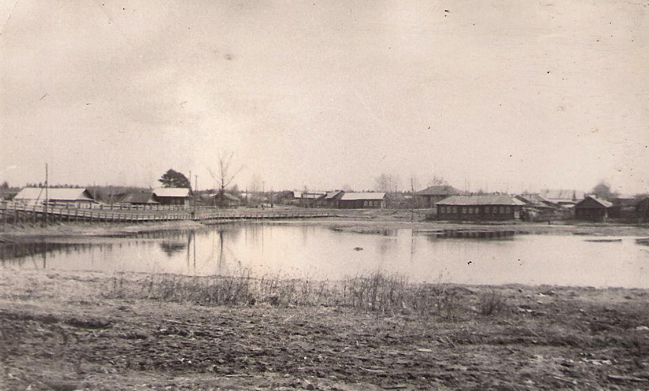 23 река Паозер выше моста 1978г