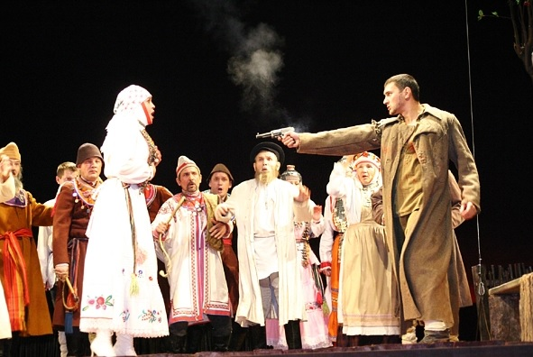 Шабалинский край перед войной. Создание театра в селе Новотроицком