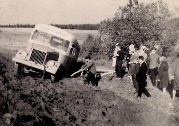 30 эх дороги! едем в Черновское 1968г