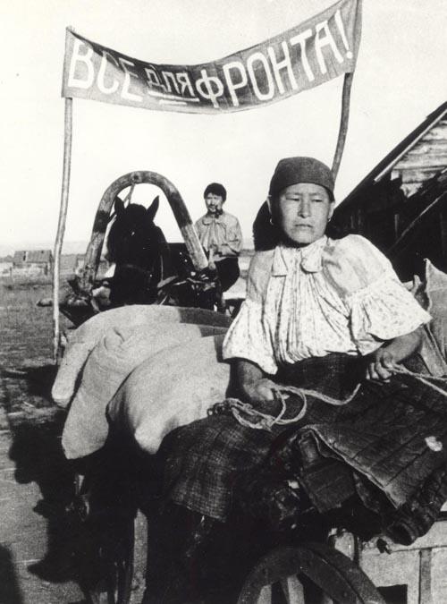 Жители Шабалинского района во время войны