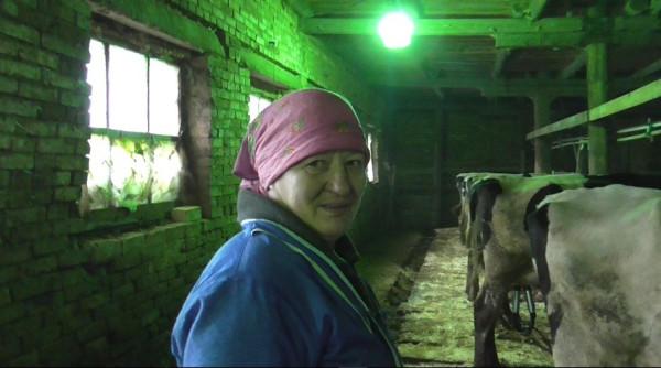 Колхозные доярки в Шабалинском районе