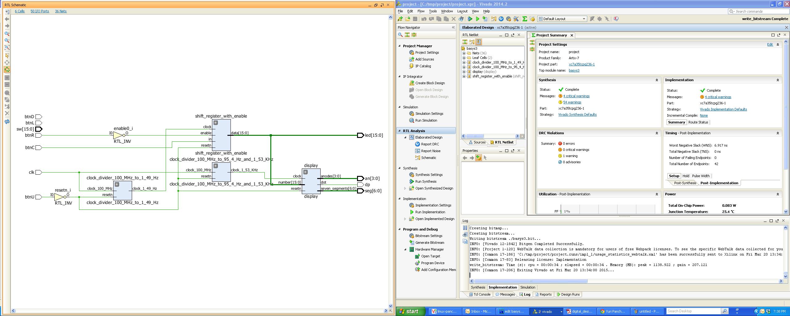 Примерчики на верилоге для вводного курса дизайна на FPGA