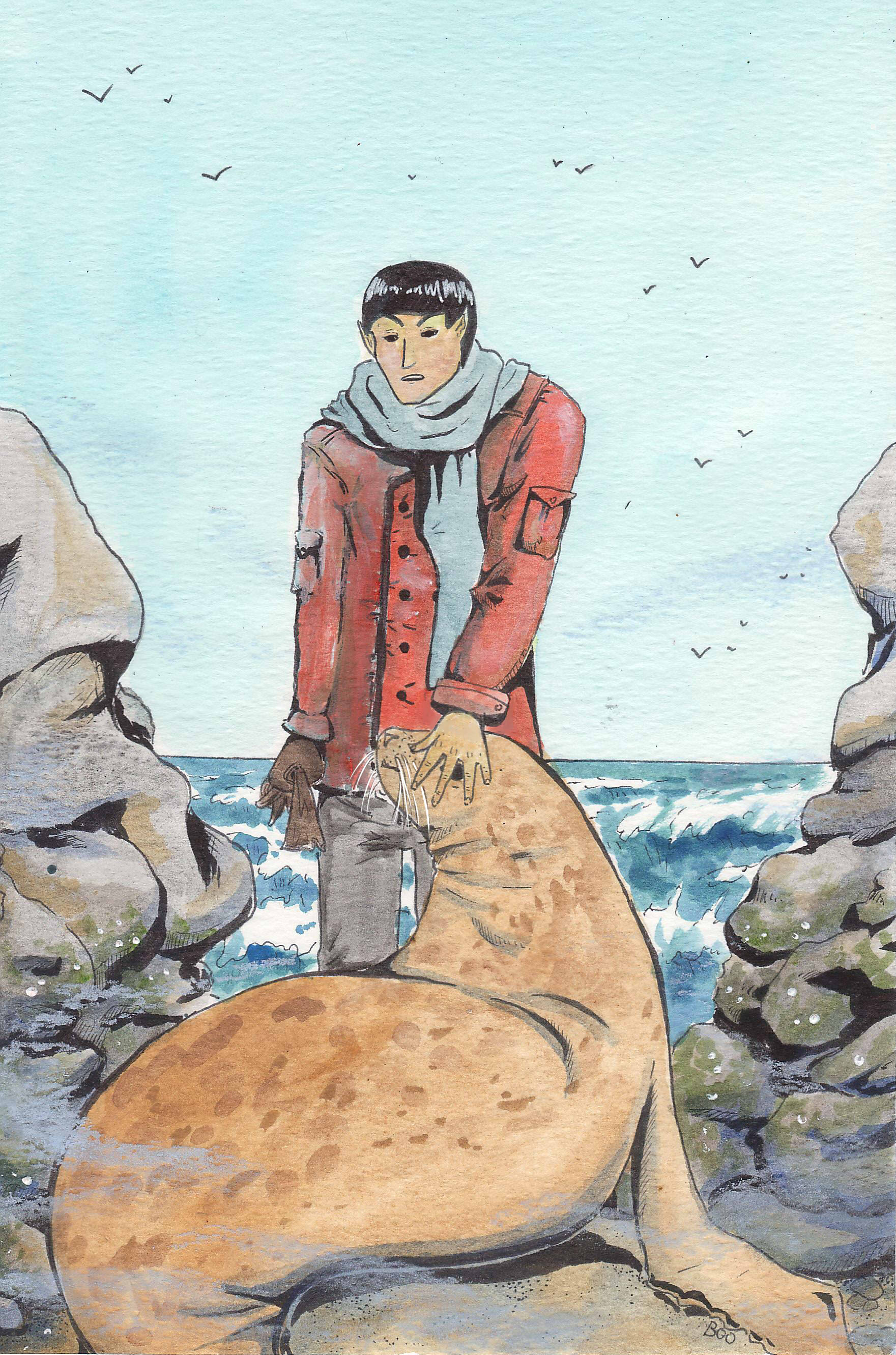 ksbb12 The Vulcan and the Selkie