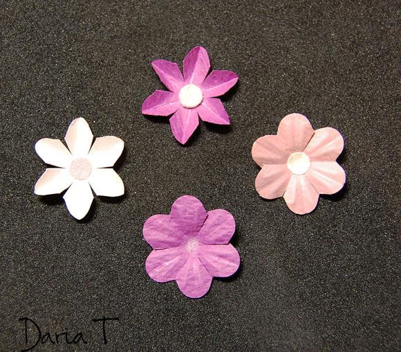 Цветы простые из бумаги своими руками