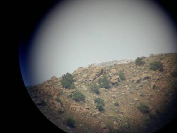 Позиция азербайджанской армии видна из села Арени.