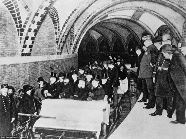 нью-йоркское метро первая поездка
