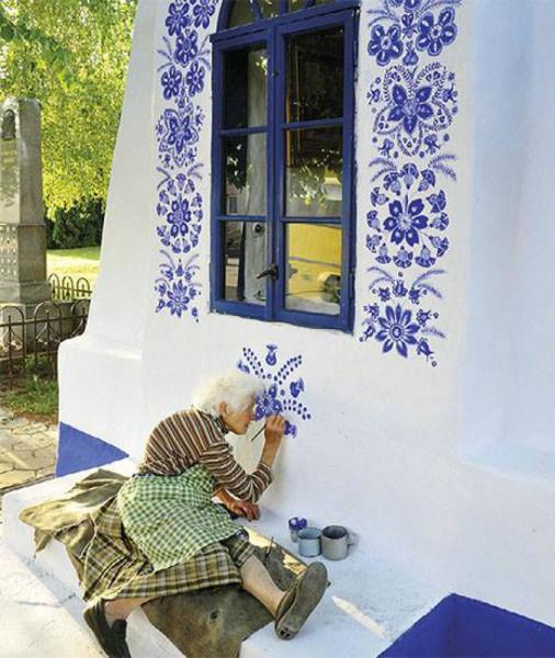 Бабушка- роспись1