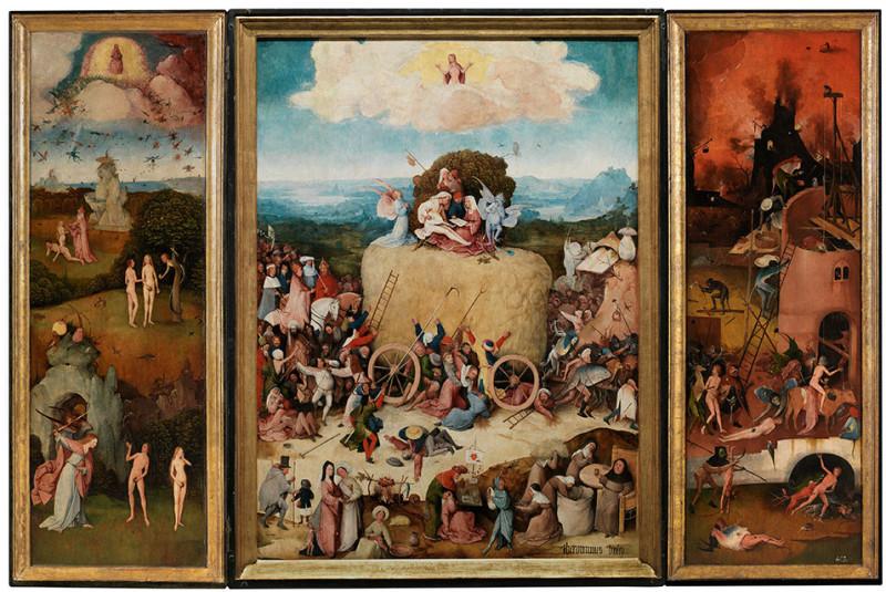 Bosch Haywain triptych