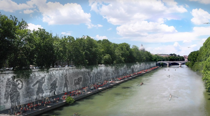 Tiber Embankment 1
