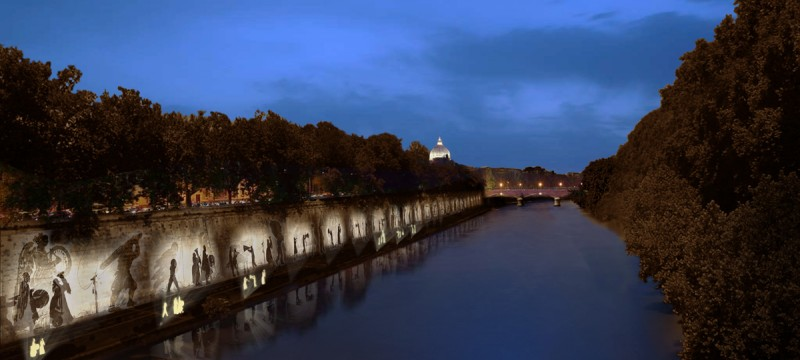 Tiber Embankment 3