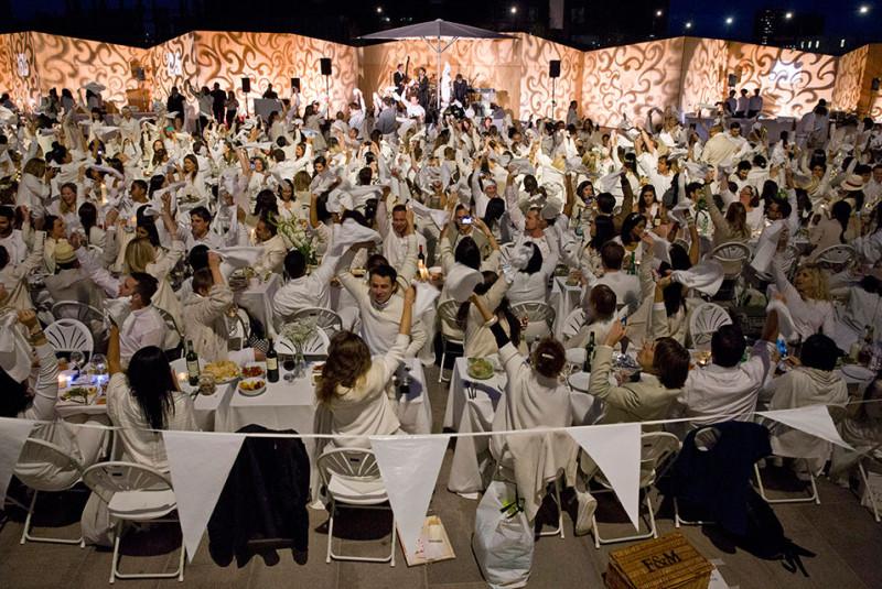 Diner in White London King's Cross