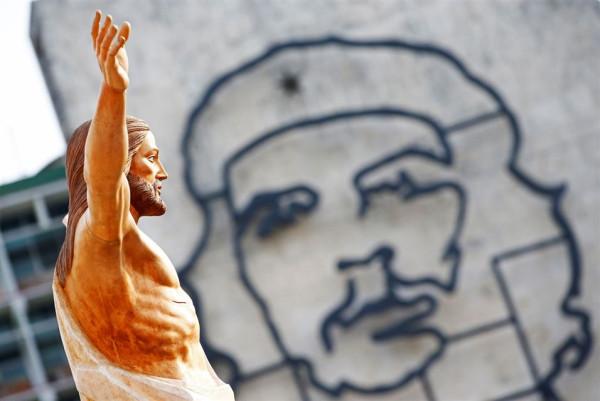 Jesus and Che Guevara