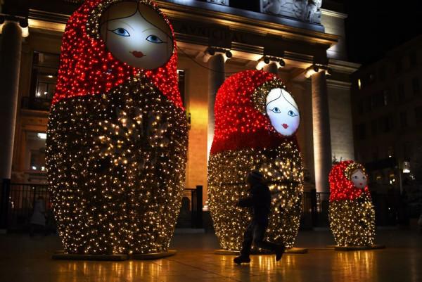 Marseille Opera on December 19 2015