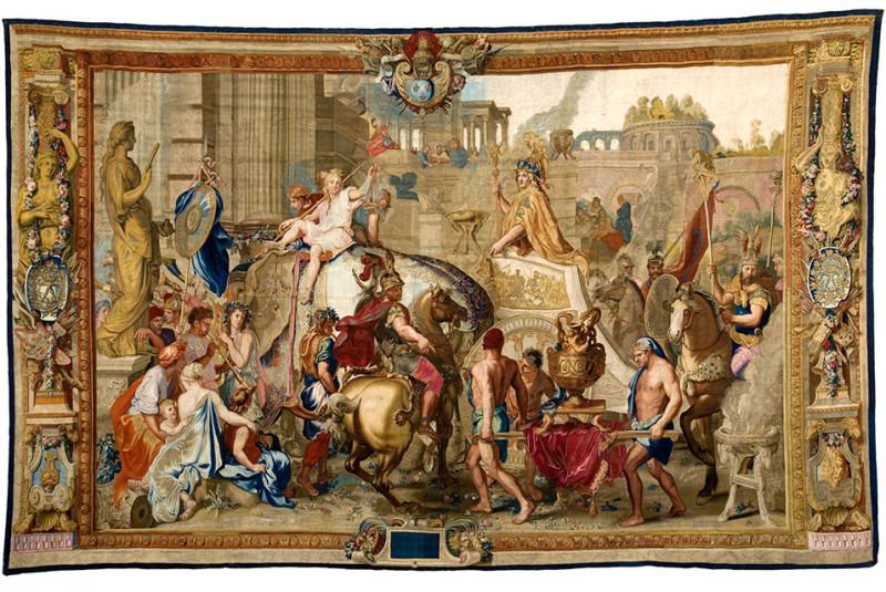 Splendor Tapestry 1
